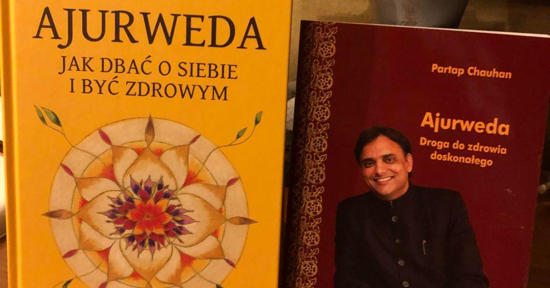 Książki o ajurwedzie dr. Partapa Chauhana