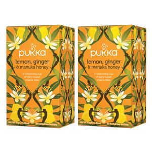 Pukka Lemon, Ginger & Manuka Honey